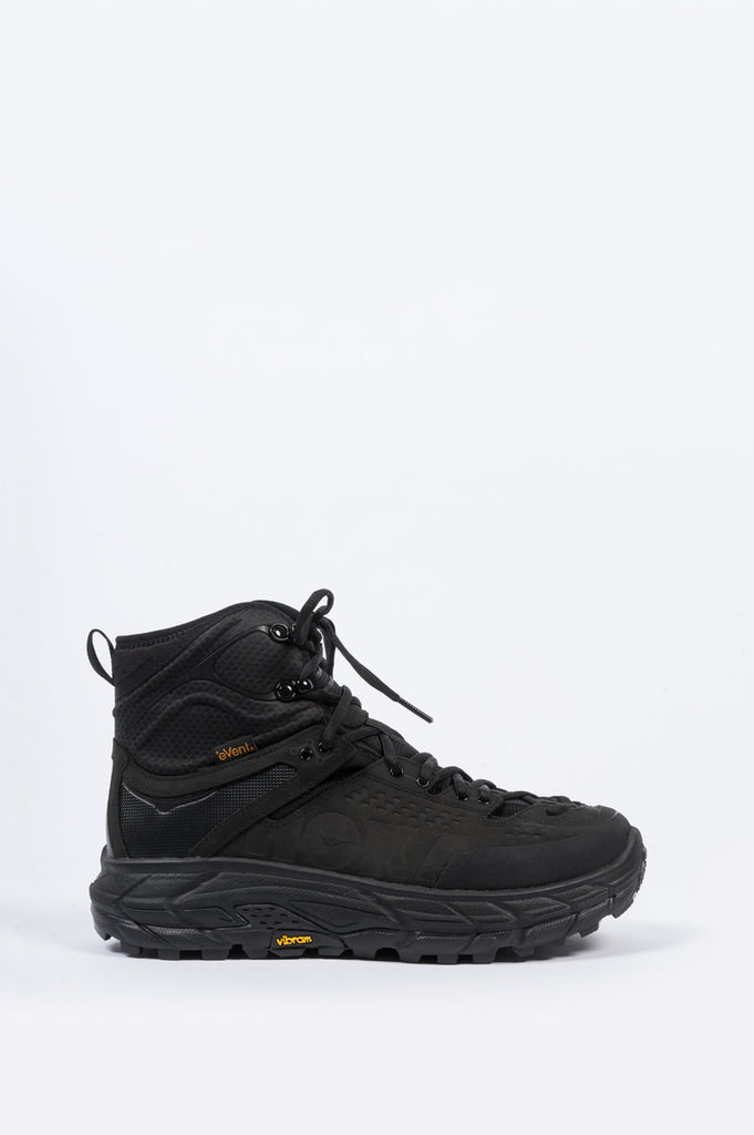HOKA ONE ONE TOR ULTRA 2 HI WATERPROOF BLACK BLACK - BLENDS