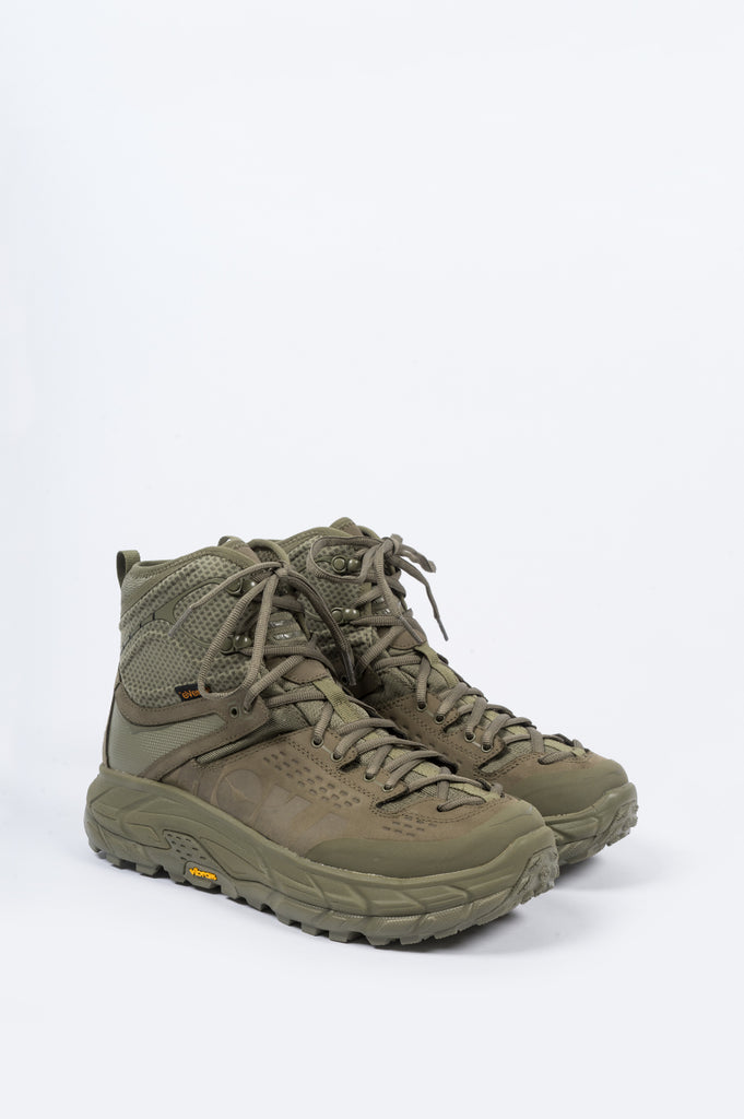 HOKA ONE ONE TOR ULTRA 2 HI WATERPROOF BURNT OLIVE - BLENDS