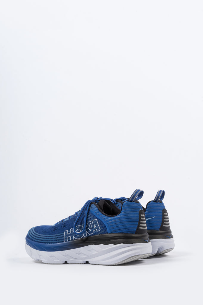 HOKA ONE ONE BONDI 6 GALAXY BLUE ANTHRACITE - BLENDS