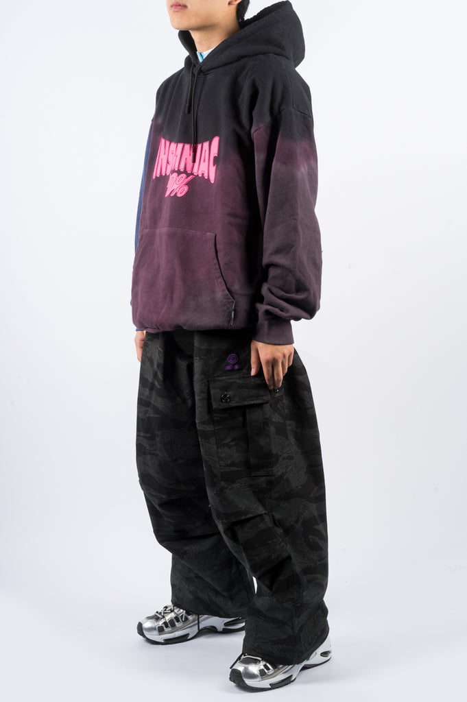 INSOMNIAC ACIDIC CAMO PANT BLACK - BLENDS