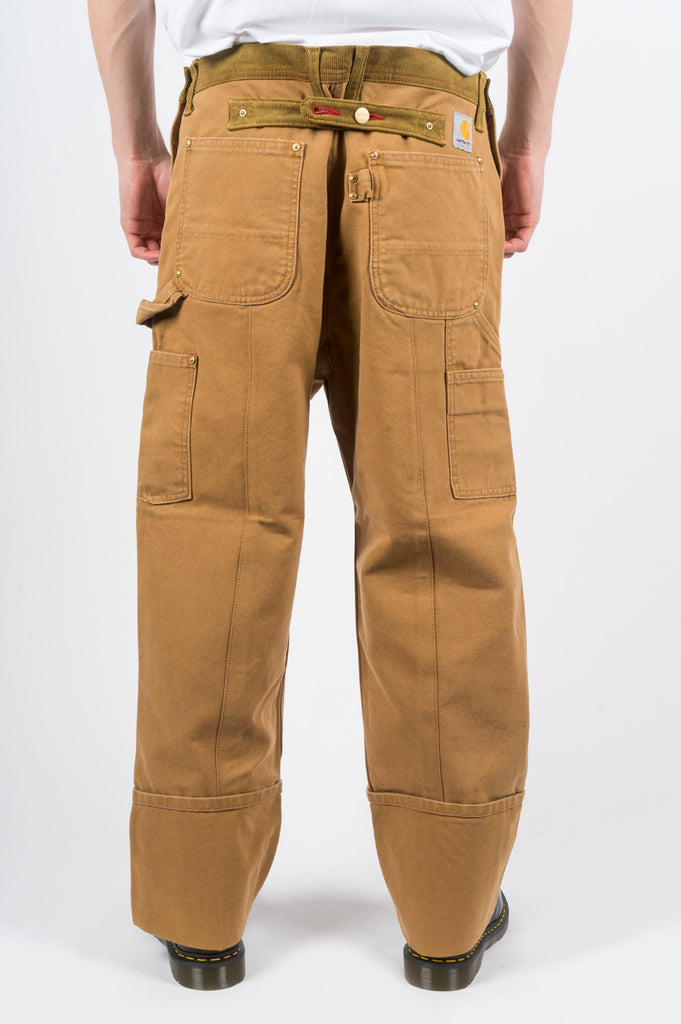 JUNYA WATANABE CARHARTT CANVAS PANT BROWN - BLENDS