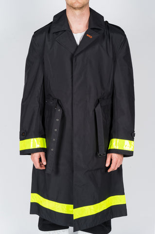 JUNYA WATANABE TRENCH COAT BLACK - BLENDS