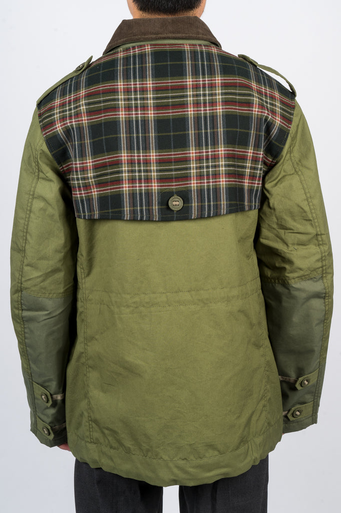 JUNYA WATANABE MAN X ARK AIR MILITARY JACKET - BLENDS