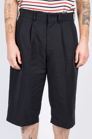 JUNYA WATANABE POLY SHORT PANTS BLACK - BLENDS