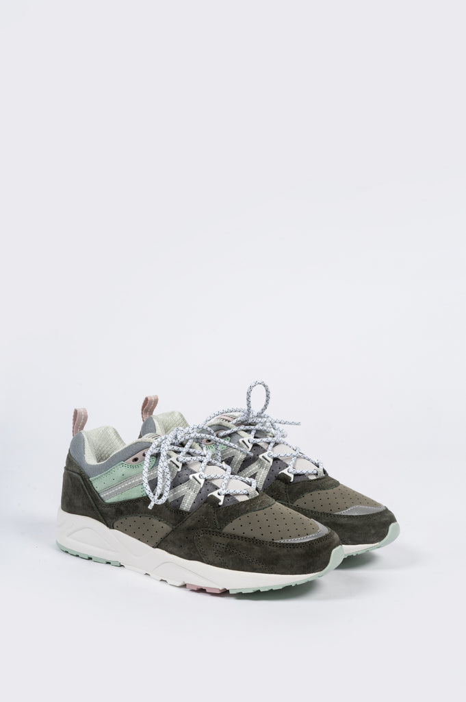 KARHU FUSION 2.0 FOREST GREEN AQUA GRAY - BLENDS