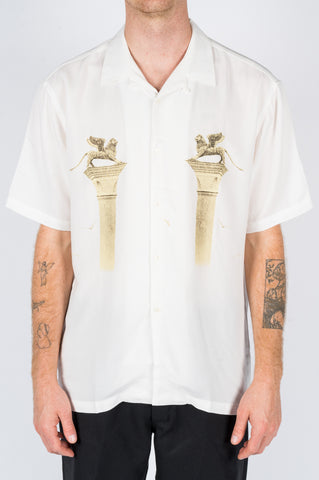 KINFOLK X PARADE VENETIAN SHIRT ECRU - BLENDS