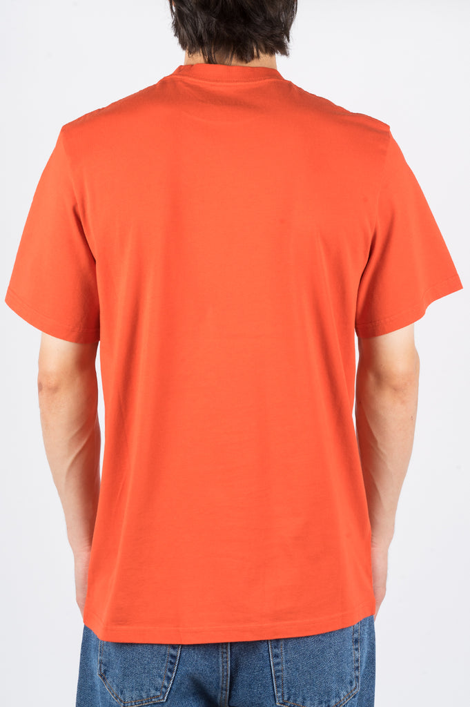 MARTINE ROSE CLASSIC SHORT SLEEVE TSHIRT ORANGE