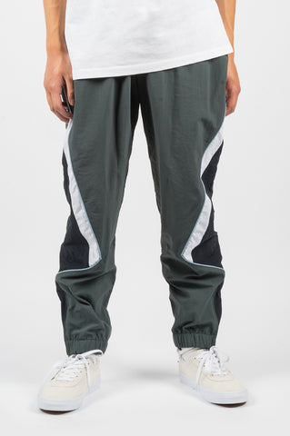 MARTINE ROSE PANELED TRACK PANT GREY - BLENDS