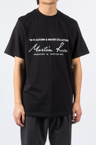 MARTINE ROSE CLASSIC SS THISRT SS20 BLACK - BLENDS