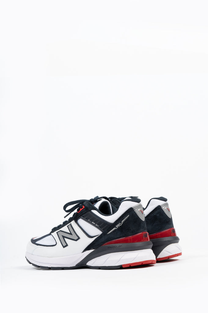 NEW BALANCE 990 V5 TEAM RED CARBON
