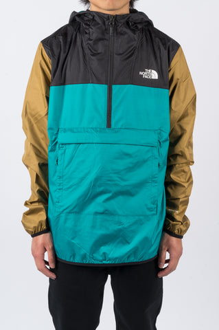 THE NORTH FACE FANORAK FANFARE GREEN - BLENDS