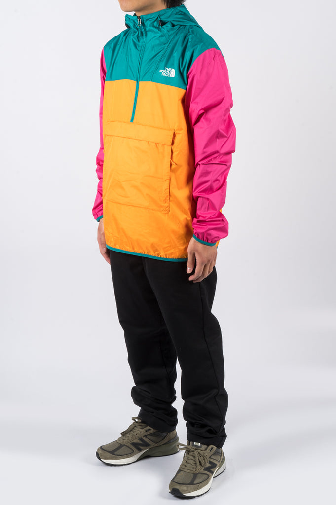 THE NORTH FACE FANORAK FLAME ORANGE - BLENDS