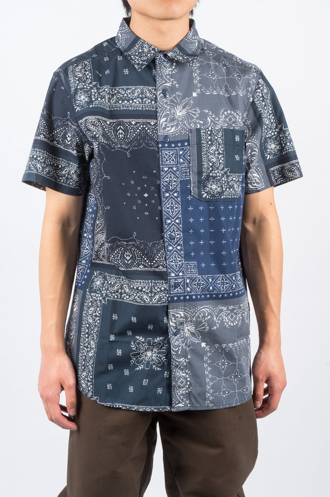 THE NORTH FACE BAYTRAIL SS SHIRT URBAN NAVY - BLENDS