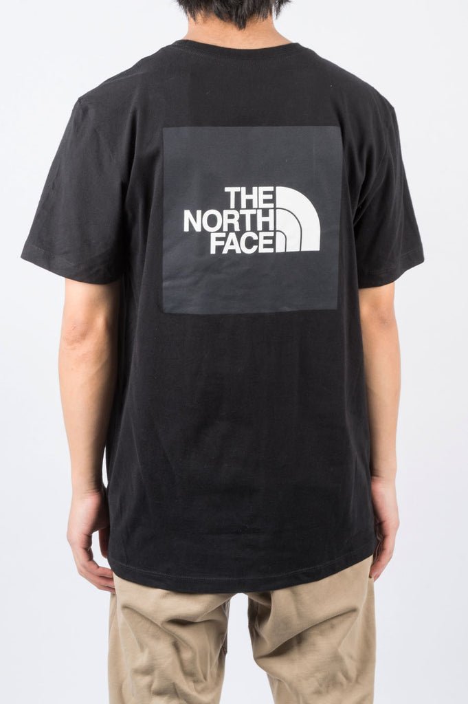 THE NORTH FACE SS BOX TEE BLACK - BLENDS
