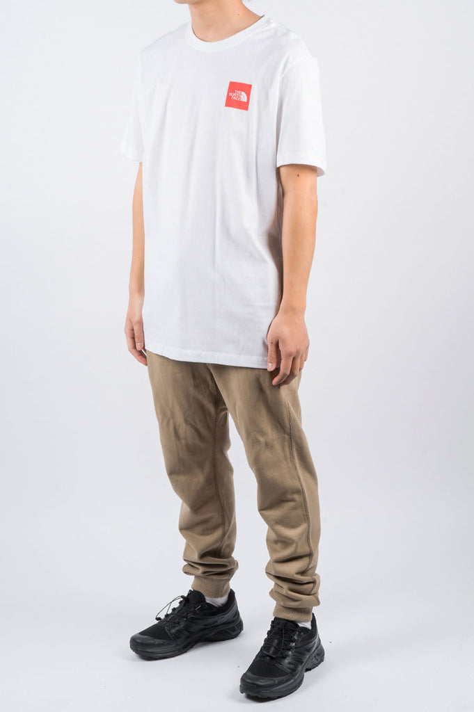 THE NORTH FACE SS BOX TEE WHITE - BLENDS