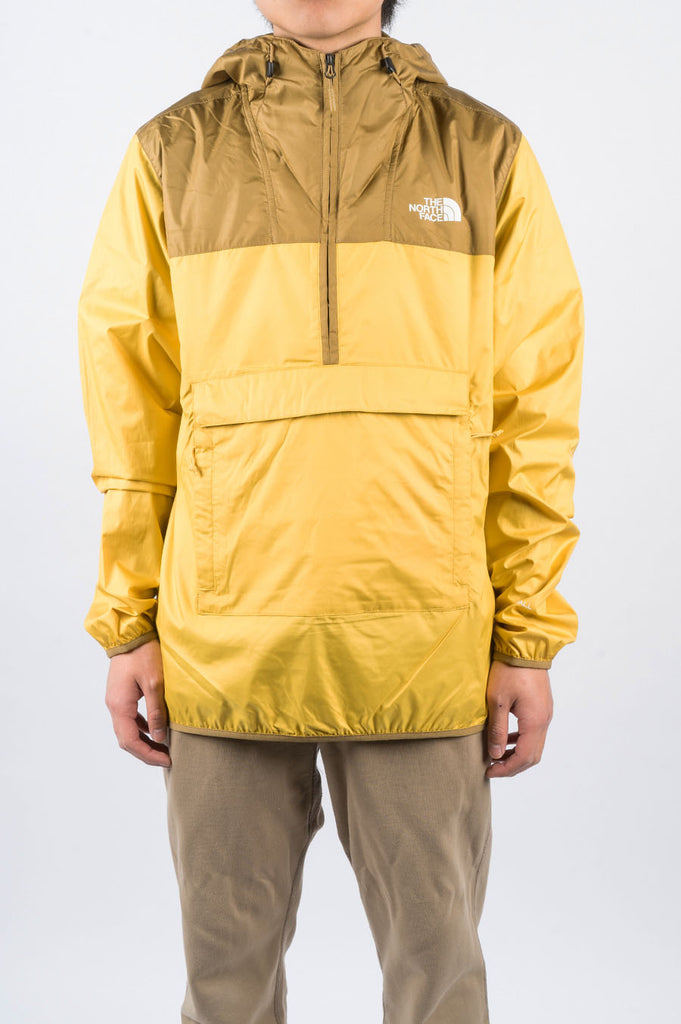 THE NORTH FACE FANORAK BAMBOO YELLOW - BLENDS