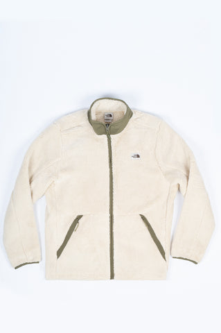 THE NORTH FACE CAMPSHIRE FULL ZIP BLEACHED SAND
