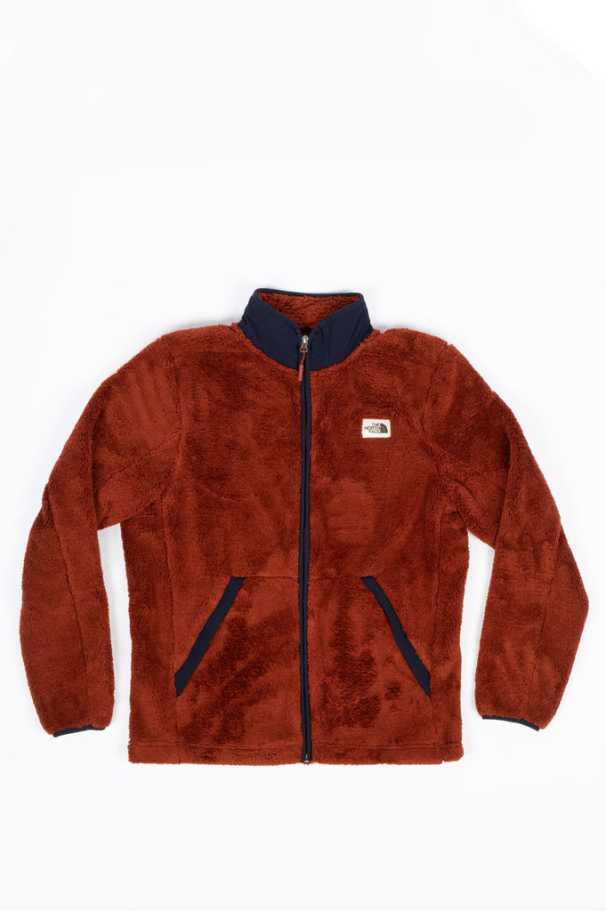 THE NORTH FACE CAMPSHIRE FULL ZIP BROWN