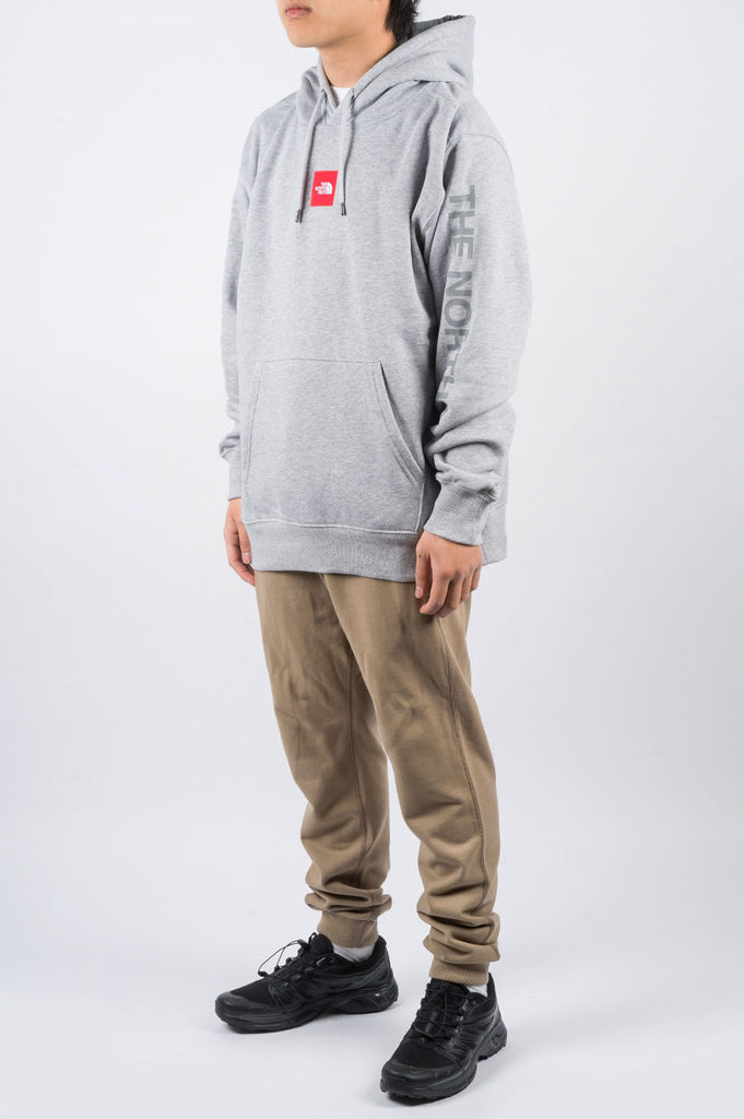 THE NORTH FACE DROP BOX PULLOVER HOODIE FLIGHT GREY - BLENDS