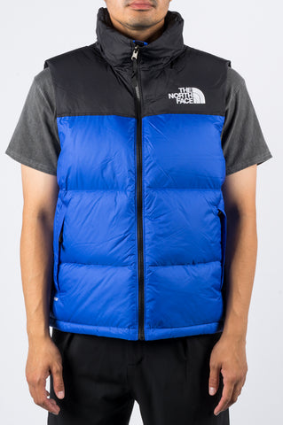 THE NORTH FACE 1996 RETRO NUPTSE VEST BLUE - BLENDS