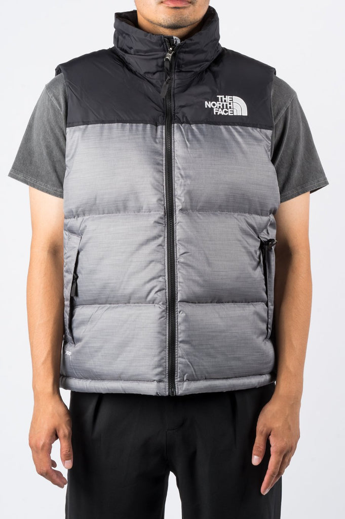 THE NORTH FACE 1996 RETRO NUPTSE VEST GREY - BLENDS