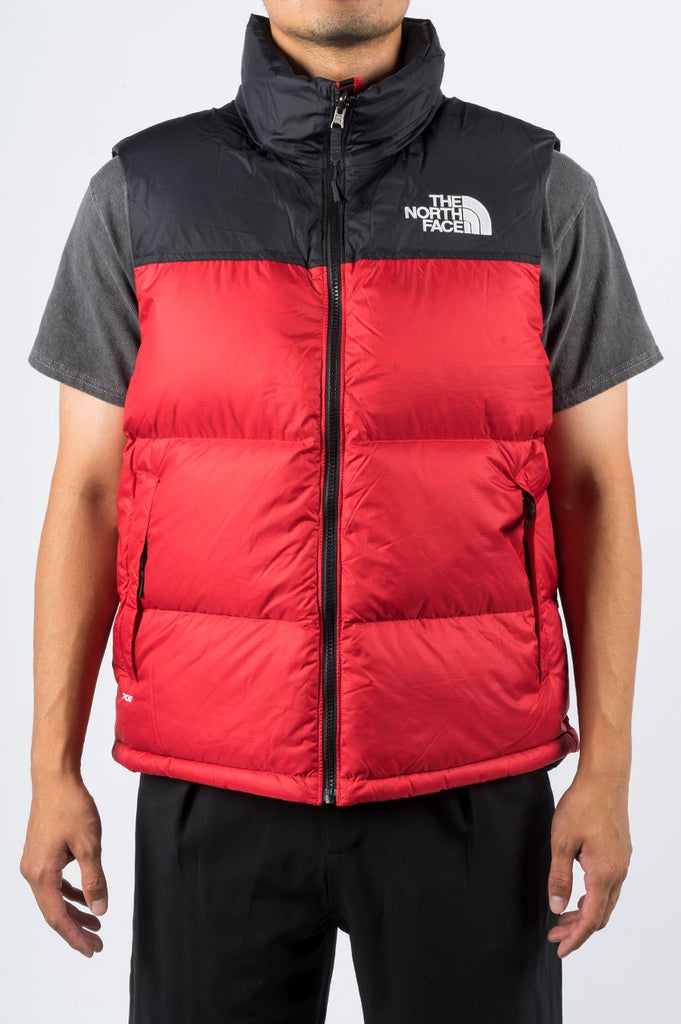 THE NORTH FACE 1996 RETRO NUPTSE VEST RED - BLENDS