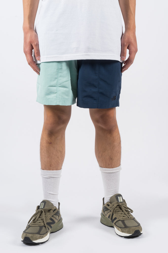 THE NORTH FACE CLASS V PULL ON TRUNK COASTAL GREEN BLUE WING TEAL - BLENDS