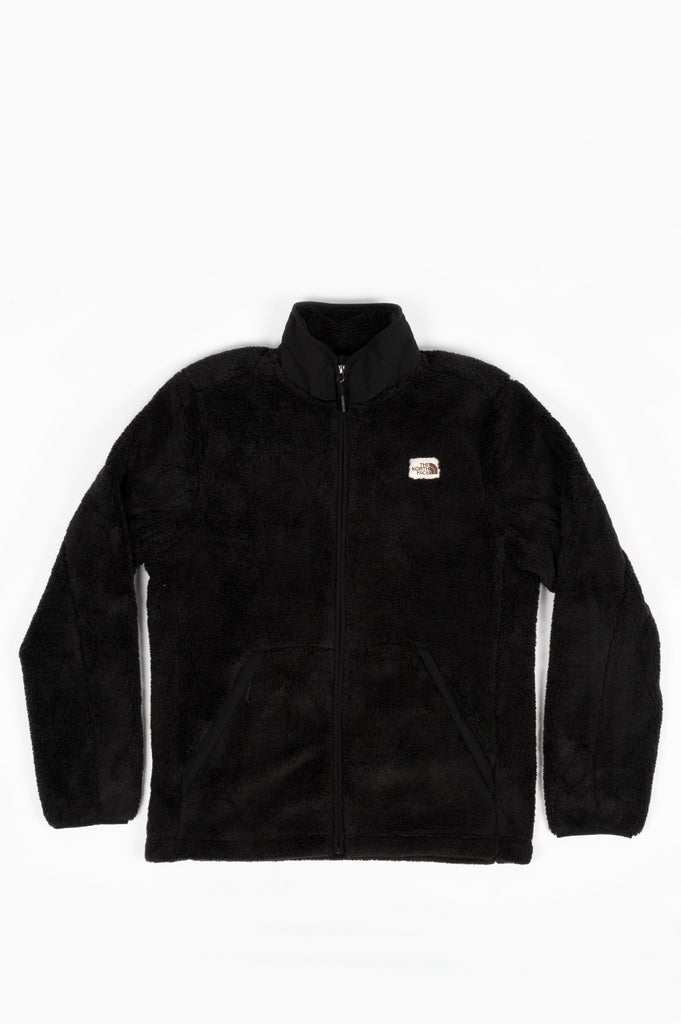 THE NORTH FACE CAMPSHIRE FULL ZIP BLACK