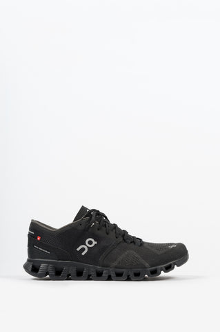 ON FOOTWEAR CLOUD X BLACK ASPHALT