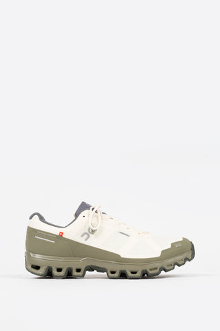 ON FOOTWEAR CLOUDVENTURE WATERPROOF WHITE