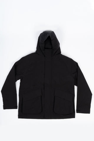 HOUSE OF PAA PARKA ONE BLACK