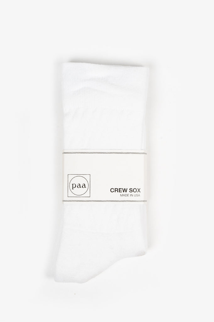 HOUSE OF PAA CREW SOX 2.5 WHITE