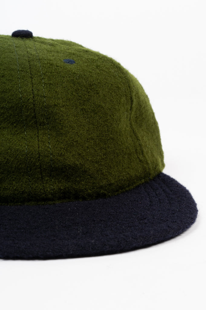 HOUSE OF PAA FLOPPY BALL CAP GREEN NAVY
