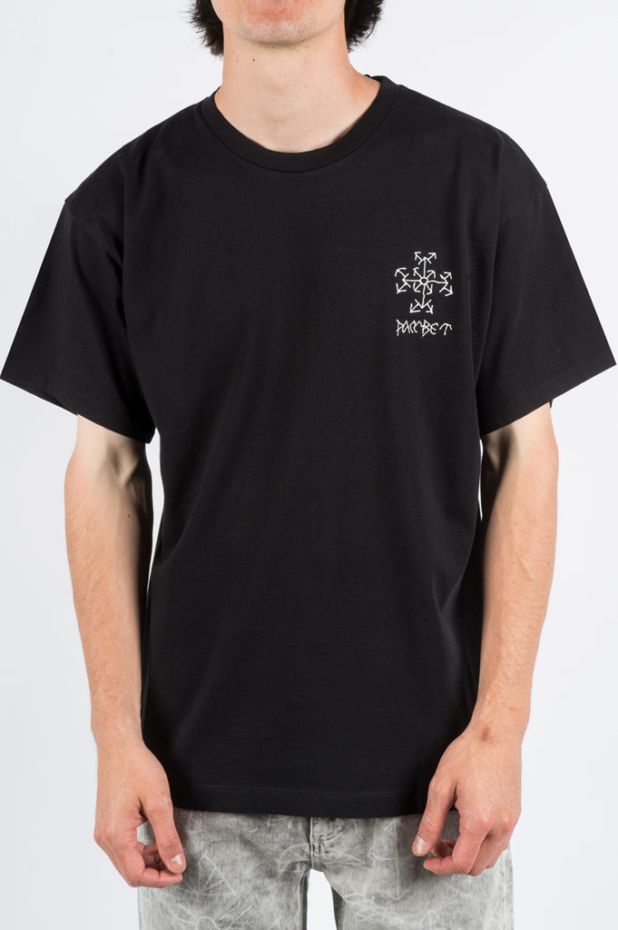 RASSVET SMALL LOGO TSHIRT BLACK - BLENDS