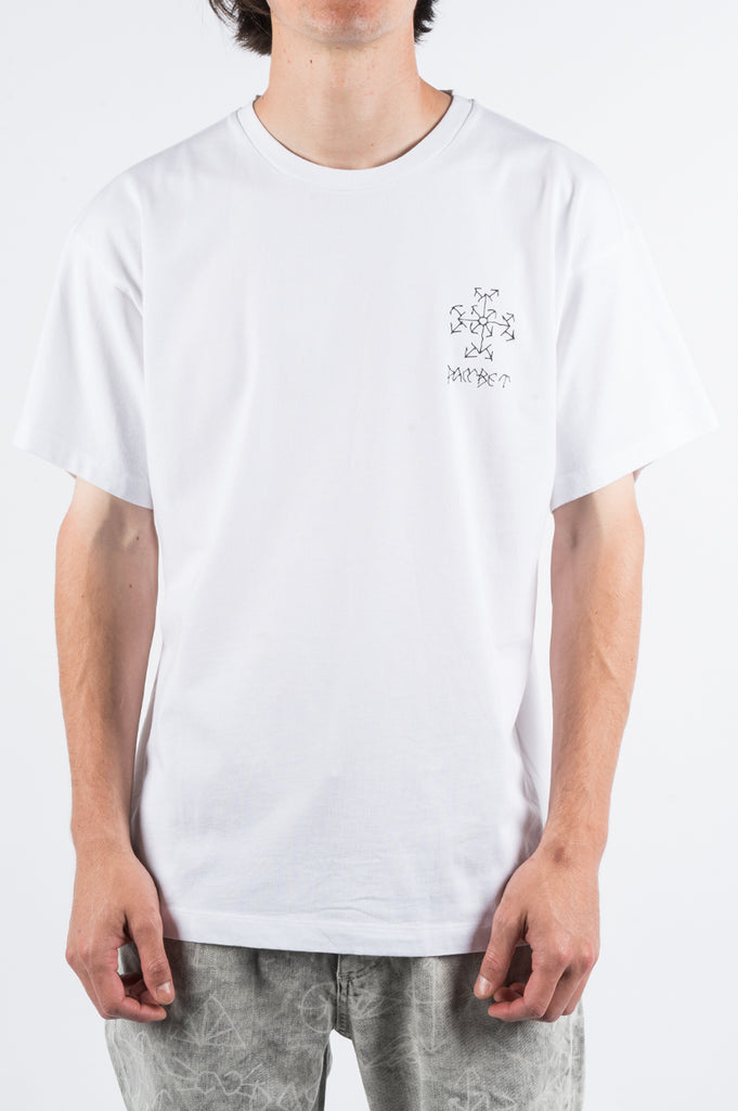 RASSVET SMALL LOGO TSHIRT WHITE - BLENDS