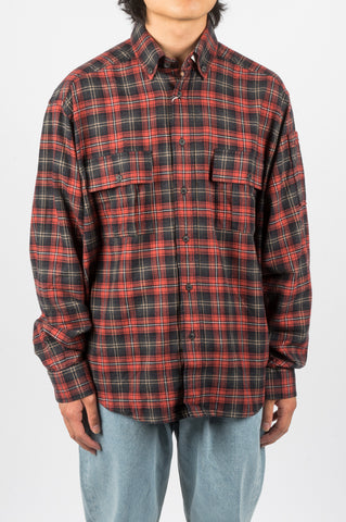 RASSVET FLANNEL SHIRT RED