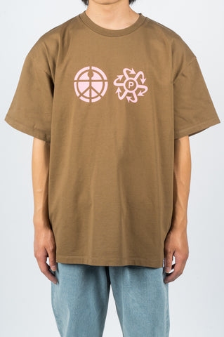 RASSVET LOGO TSHIRT BROWN