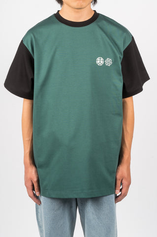 RASSVET TWO TONE TSHIRT GREEN