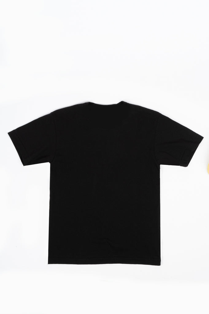 COMME DES GARCONS PLAY DOUBLE EYES T-SHIRT BLACK