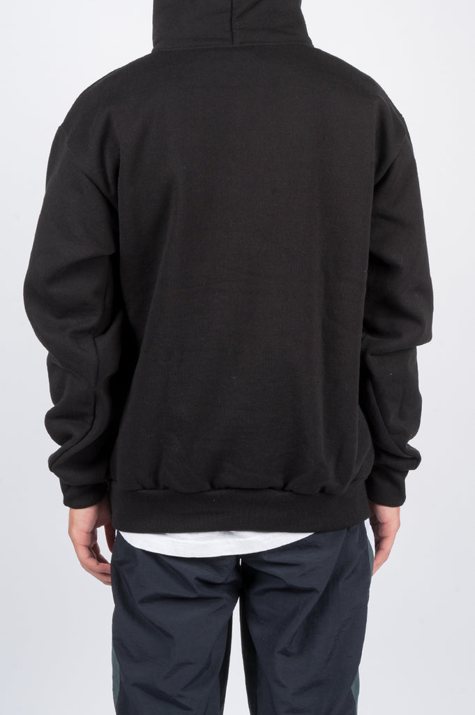POWERS LION PULLOVER HOOD BLACK - BLENDS