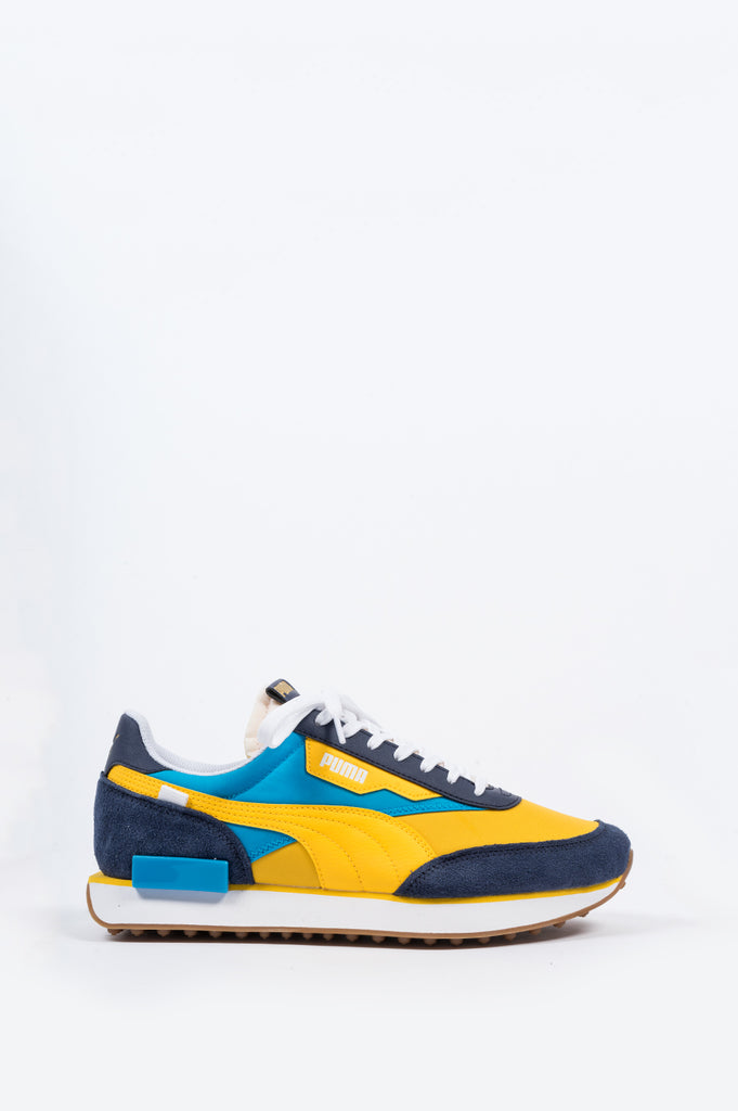 PUMA FUTURE RIDER OG PEACOAT SPECTRA YELLOW - BLENDS