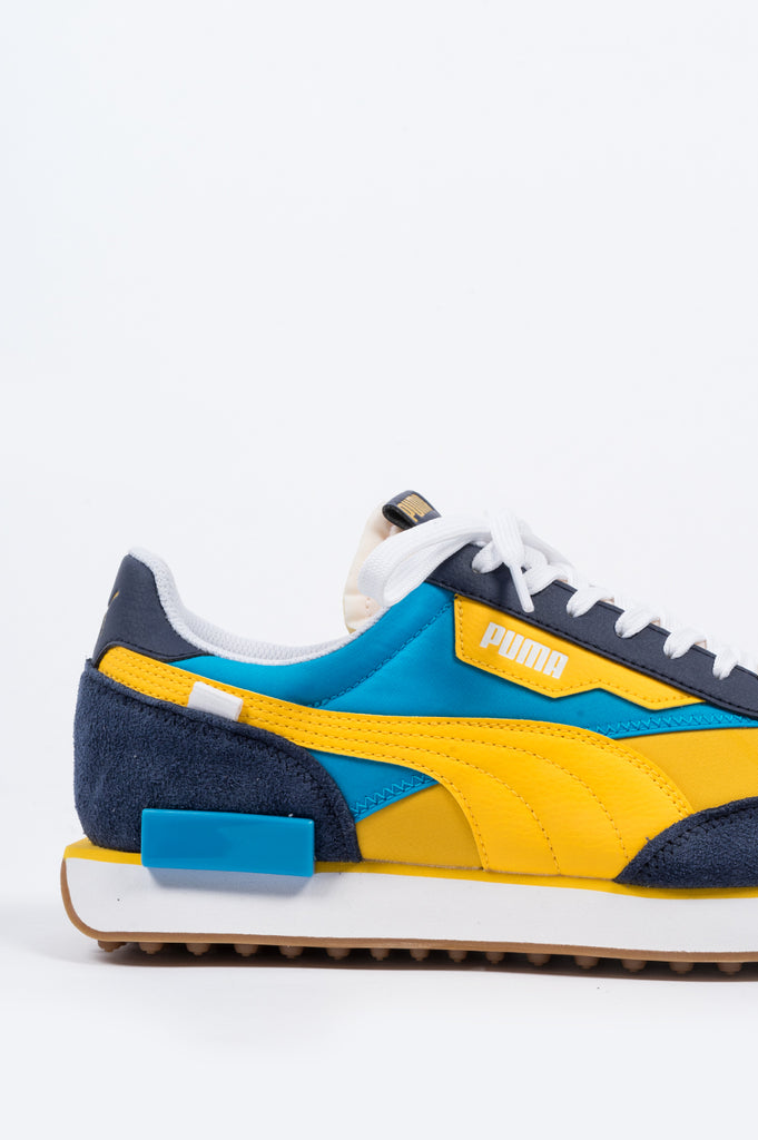 PUMA FUTURE RIDER OG PEACOAT SPECTRA YELLOW