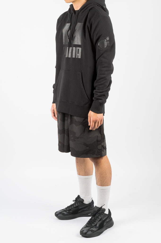 PUMA X THE HUNDREDS HOODIE BLACK - BLENDS