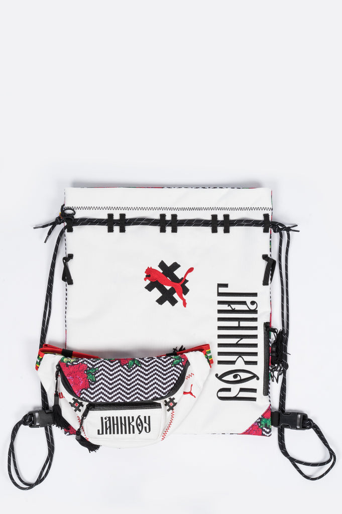 PUMA X JAHNKOY BACKPACK WHITE MULTI - BLENDS