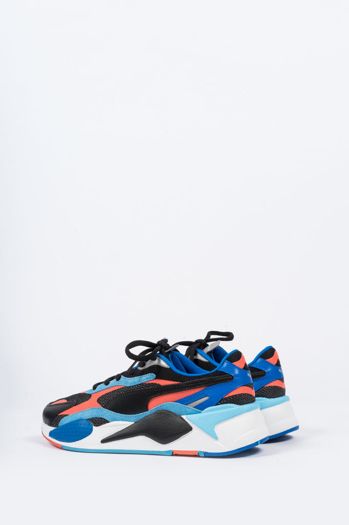 PUMA RS-X3 LEVEL UP BLACK HOT CORAL