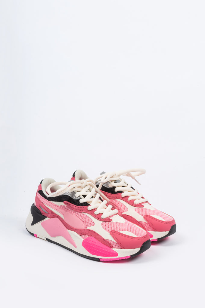 PUMA WOMENS RS-X3 PUZZLE RAPTURE ROSE - BLENDS