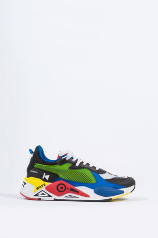 PUMA RS-X MIXTAPE WHITE ROYAL - BLENDS