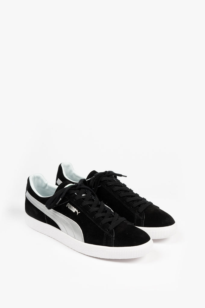 PUMA SUEDE VTG MADE IN JAPAN SILVER PACK BLACK