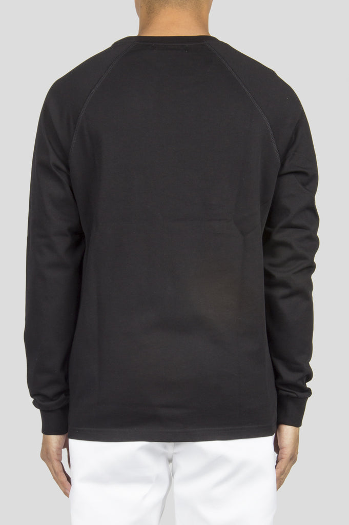 FUTUR RAGLAN HW LS TSHIRT BLACK - BLENDS