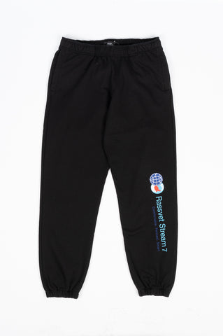 RASSVET MENS STREAM 7 SWEATPANT BLACK